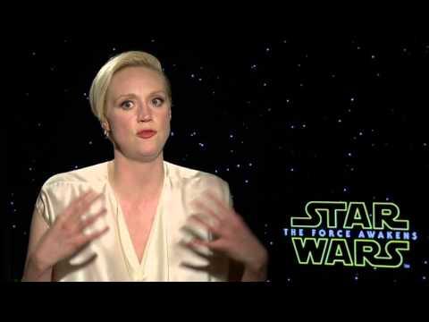 Star Wars: The Force Awakens: Gwendoline Christie Official Movie Interview