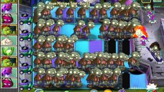 Plants vs. Zombies 2 : Basic Zombies vs. Zombot Multi-Stage Masher !!! (IOS)