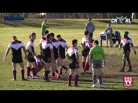 2017 Canberra RL Round 16 Queanbeyan Kangaroos v Yass Magpies