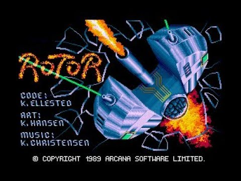 Rotor Review For The Commodore Amiga By John Gage