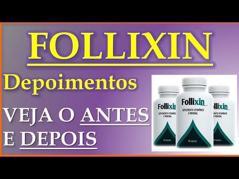 FOLLIXIN Depoimentos - Tratamento Para Queda de Cabelo - Follixin Funciona - Tratamento Para Calvicie - HD