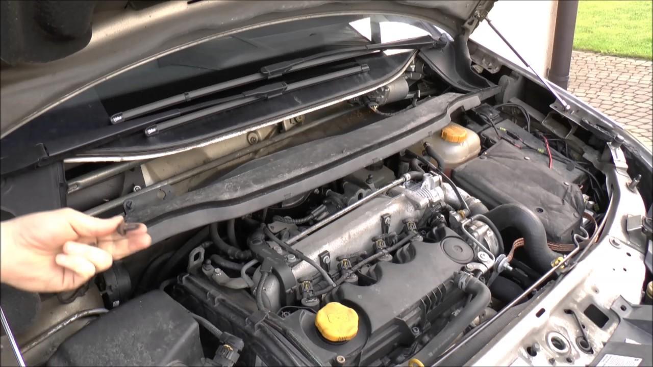 Jak Zdemontować Podszybie Opel Zafira Youtube