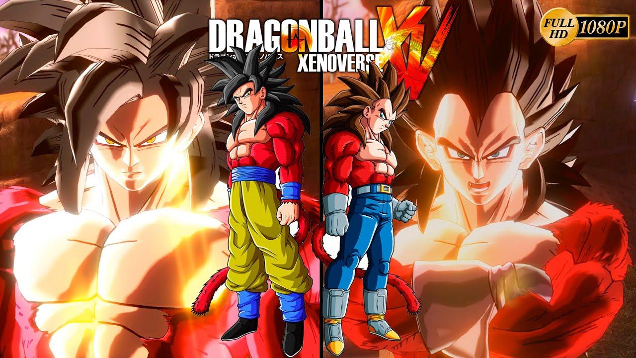 Dragon ball xenoverse super saiyan 4 vegeta ssj4 vs - Dragon ball xenoverse ss4 vegeta ...