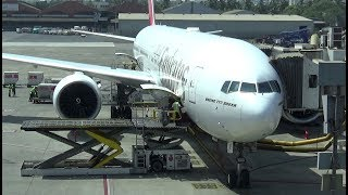 My Emirates flight from Mumbai to Dubai EK-507 on a Boeing 777-300ER