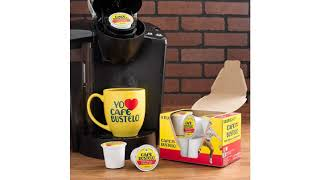 Coffee MUST SEE Amazon Best Seller Reviews ! Cafe Bustelo K-cup Packs, Espresso Style, 24 Count