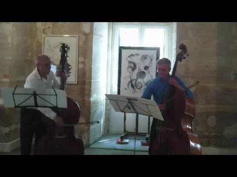 Helmut Oehring. Jean-Baptiste Pelletier, Jean-Pierre Robert. Losheit for 2 double basses