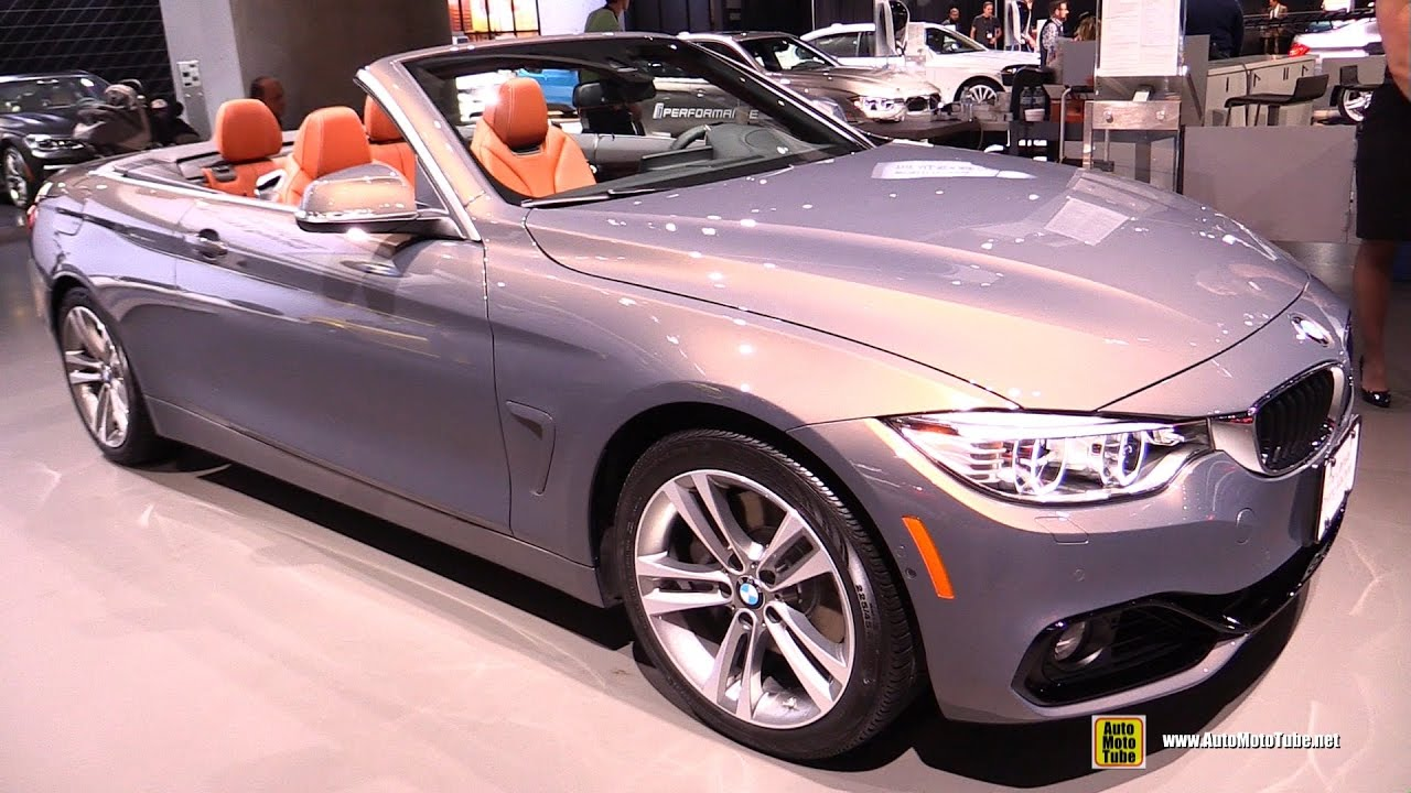 2017 Bmw 440i Convertible Exterior And Interior Walkaround 2016 La Auto Show You