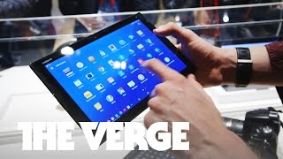 Hands on with the Sony Xperia Z4 Tablet & Xperia M4 Aqua at MWC 2015