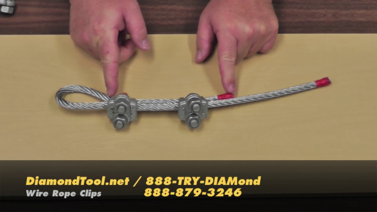 Wire Rope Clips - YouTube