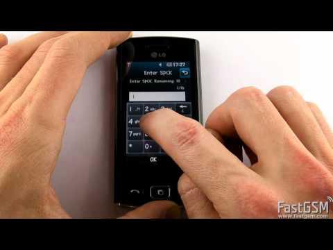 Unlock LG GM360 Viewty Snap & Bali
