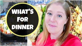 WHAT'S FOR DINNER | EASY & DELICIOUS FAMILY DINNER IDEAS