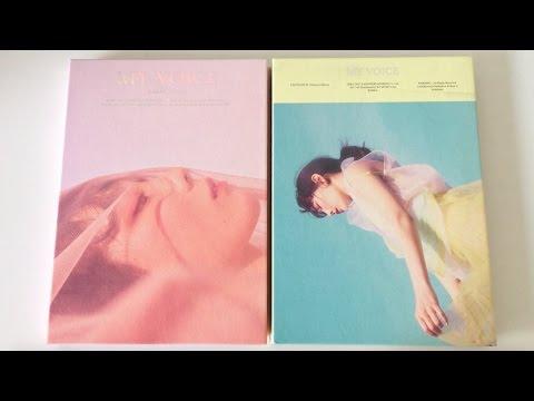 Download lagu baru ♡Unboxing Taeyeon 태연 1st Studio Album My Voice 마이 보이스 (Deluxe Editions)♡ online