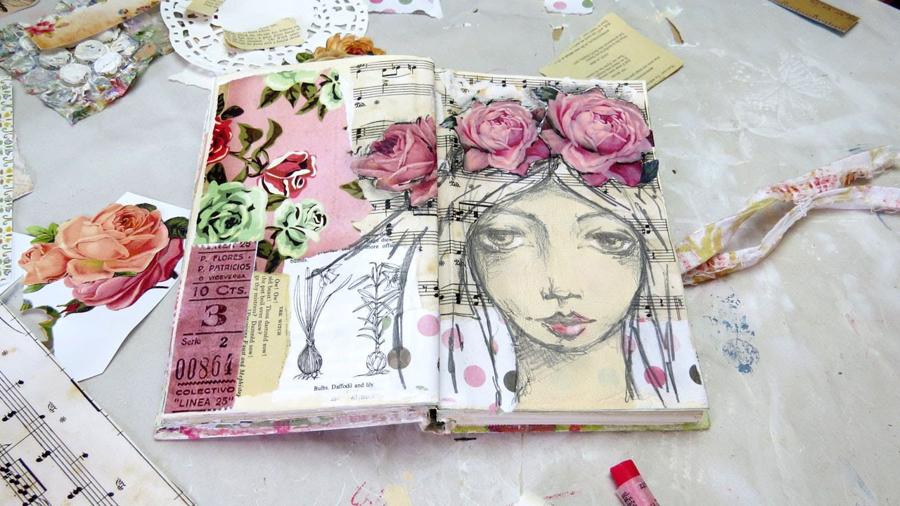 Creative Sketchbook Cover Page Ideas