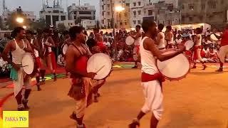 పల్లెటూరు జాతరలో డప్పుల తీన్మార్ (Village Jathara Music with Dance)