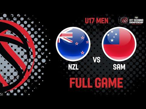 New Zealand V Samoa - Full Game - FIBA U17 Oceania Championships 2019