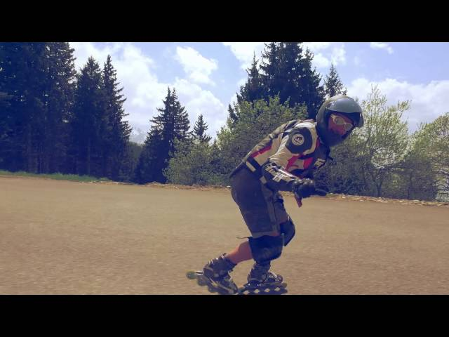 DJI Osmo test on a helmet skateboarding crash