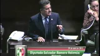 Dip. Salvador Romero (PRI) - Ley de Caminos, Puentes y Autotransporte Federal