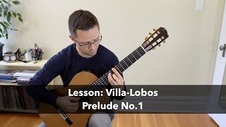 Lesson: prelude no.1 by heitor villa-lobos (1887-1959) for classical guitar ► full post and sheet music link: https://www.thisisclassicalguitar.com/lesson-pr...