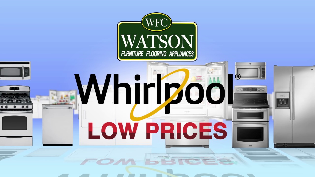 Whirlpool Appliances Available at Watson\'s - YouTube