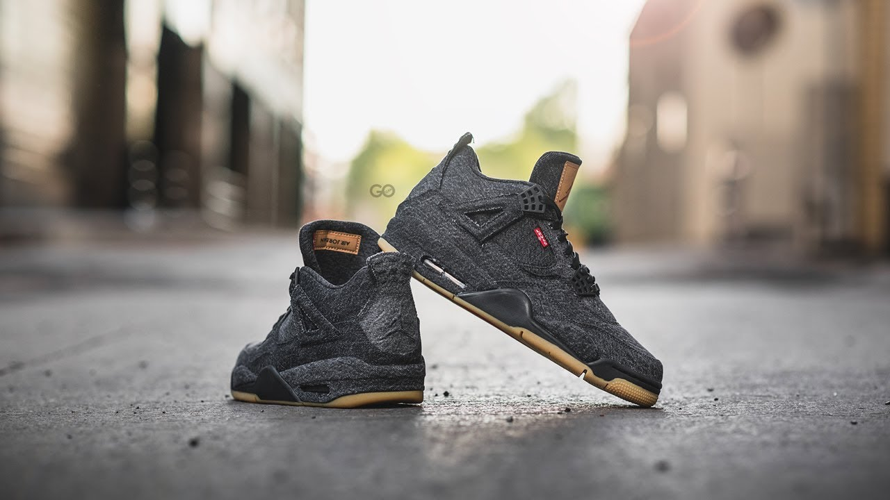 new arrival 6ba98 1e7d2 Air Jordan 4 Retro Levi's NRG