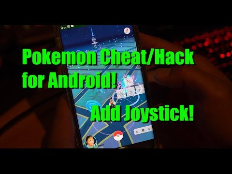 Pokemon Go Cheat/Hack for Android - Use a Joystick, WORKS on v0.35.0!