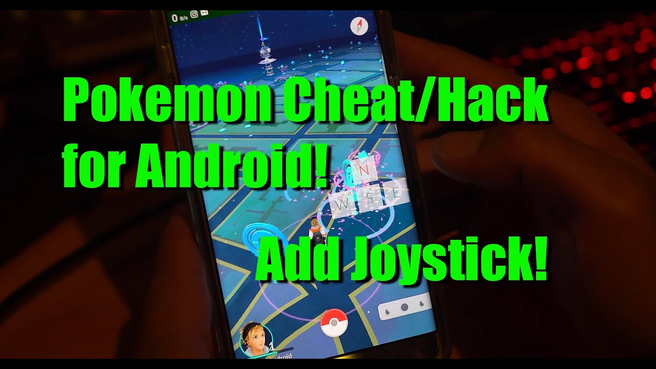 Pokemon Go Cheat/Hack for Android - Use a Joystick, WORKS on v0.35.0! - YouTube
