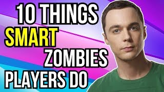 10 MORE Things Smart Zombies Players Do!