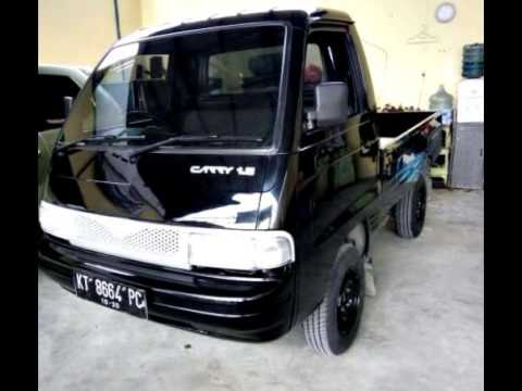 Dijual Suzuki Cerry Futura Pick Up 2015 Hitam Samarinda Hp