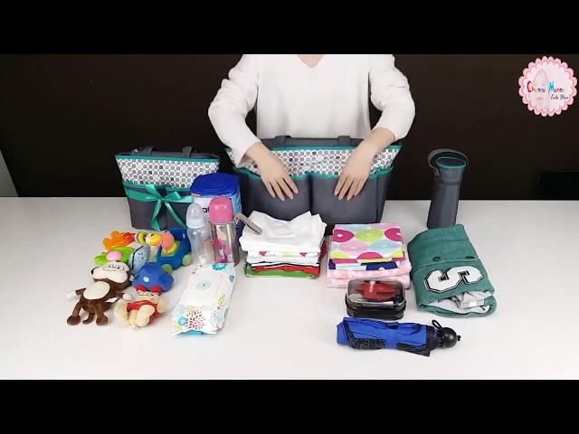 COLORLAND MOTHER BAG SET (5 Pcs )