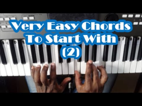 Very Easy Piano Chords That Every Beginner Should Know Lesson 2