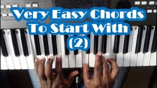Very Easy Piano Chords That Every Beginner Should Know - Lesson 2 - Basic Chords