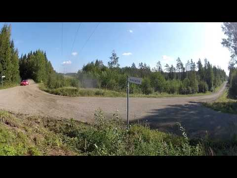 Neste Oil Rally Finland 2014 SS14 Mokkipera Crash!