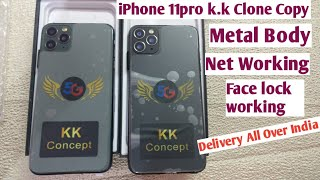 iPhone 11Pro Max k.k Clone Copy/Master copy/New with box