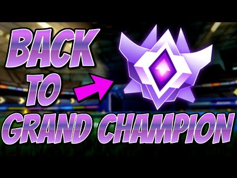 I THREW MY RANK... | Road to Grand Champion 2v2 (Rocket League Gameplay) thumbnail