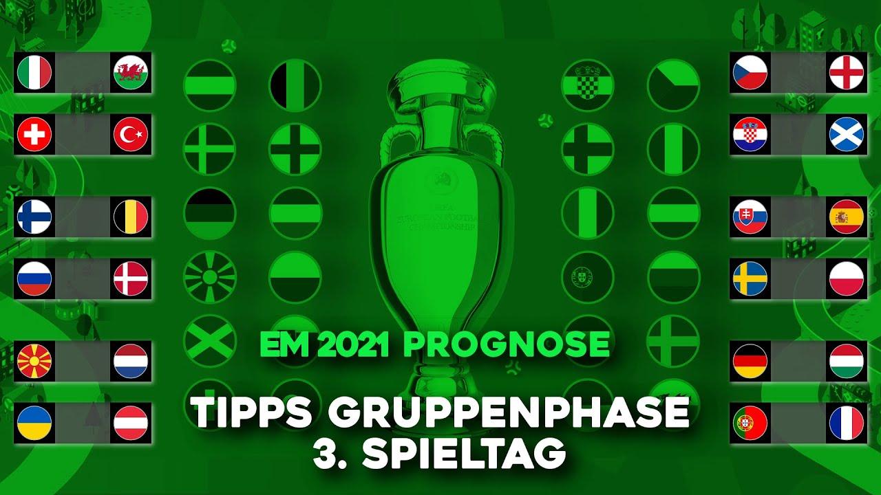 EM Prognose Gruppenphase   Tipps 3. Spieltag