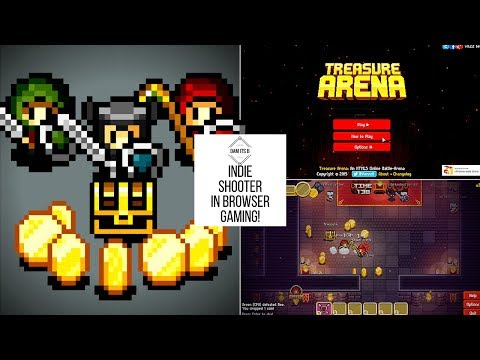 GAME WITH ME! In browser gaming - Treasure Arena