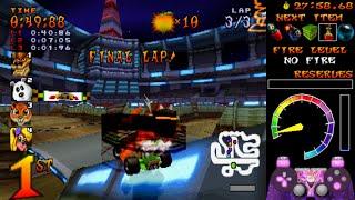 [TAS] CTR: Crash Team Racing in 45:04.34 by AleMastroianni