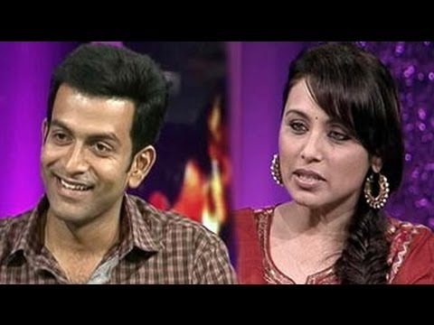 Aiyyaa stars Rani, Prithviraj chat with NDTV