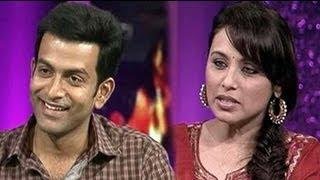 Aiyyaa stars Rani, Prithviraj chat with NDTV