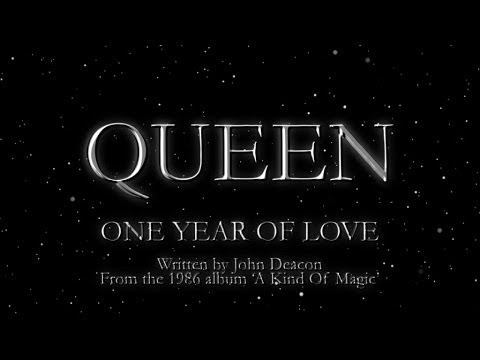 Queen One Year Of Love Official Lyric Video Youtube