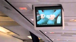 Hainan Airlines B737-800 Safety Video/Engine Start and Push back Lanzhou HU7743