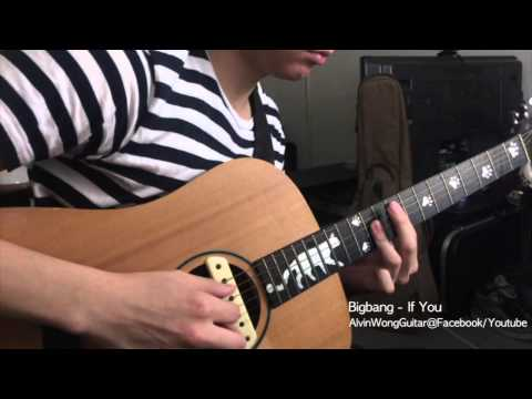 BigBang - If You (Guitar Cover + TAB) - YouTube