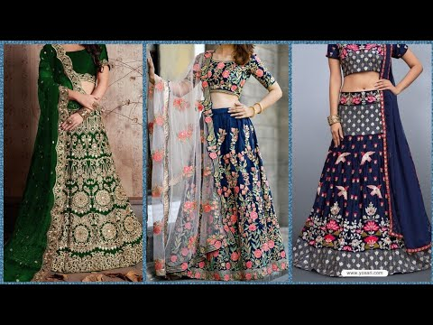 Top Stylish Indian Lehnga Choli Designs For Newly Brides Collection