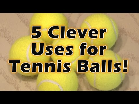 5 Clever Uses for Tennis Balls!