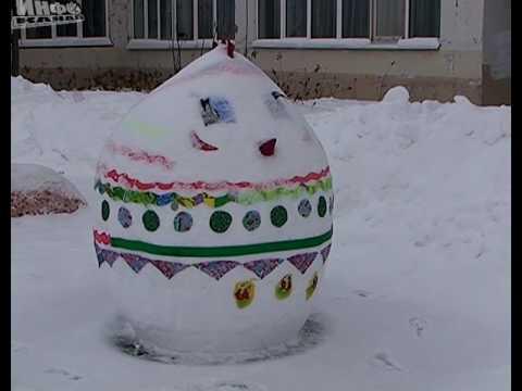 Снежные фигуры шк. №2