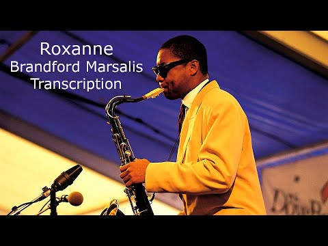 Roxanne-Sting. Branford Marsalis' (Bb)  Solo.Transcribed by Carles Margarit.
