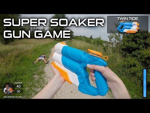 Nerf Super Soaker Gun Game