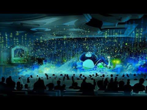 [2021] Kung Fu Panda: Theatre Show - 4K 60FPS   Universal Studios Hollywood, California