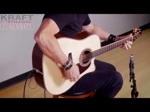 Kraft Music - Takamine Pro Series P4DC Performance with Brad Davis