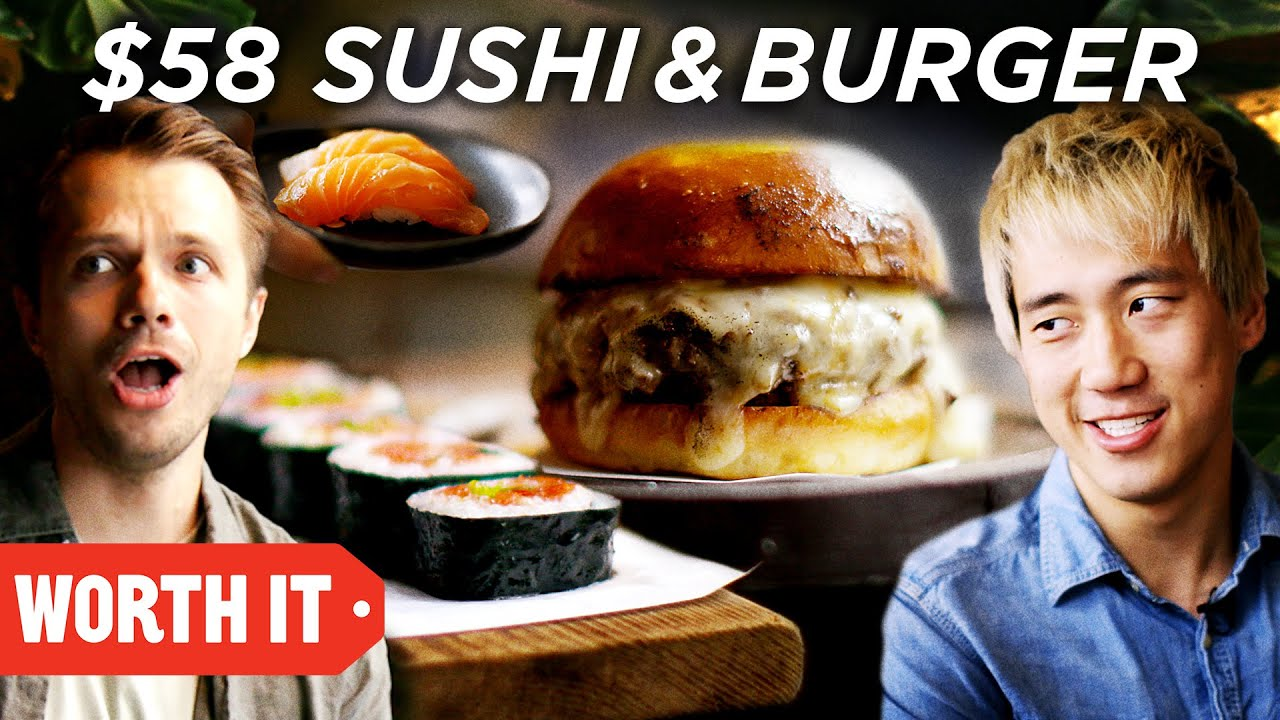 $10 Sushi & Burger Vs. $58 Sushi & Burger image